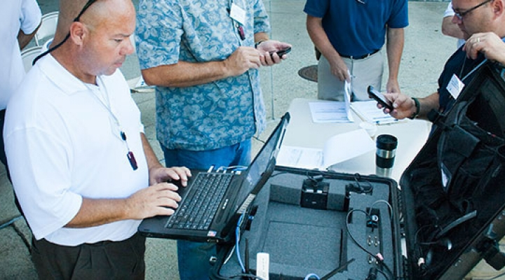 Mobile Command System Testing